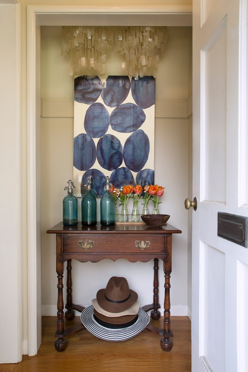 Creating an Entryway in a Home That Doesn't Have One