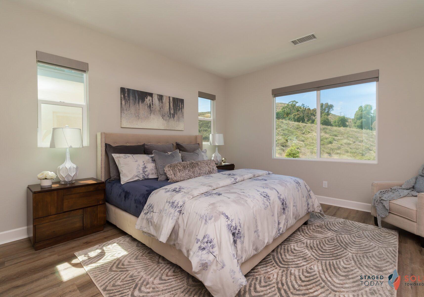 8b - Chaparral Way - Santee - Master Bedroom - After
